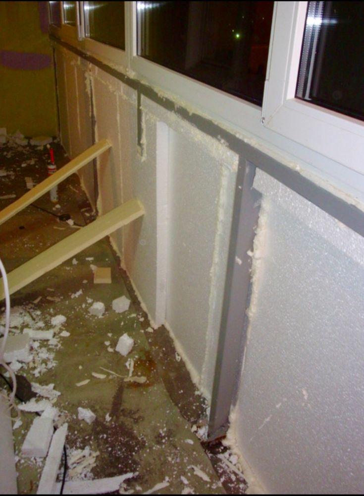 Утепление балконов, остекление балконов и лоджий, строительс.
